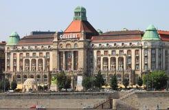 Gellert旅馆宫殿在布达佩斯 库存照片