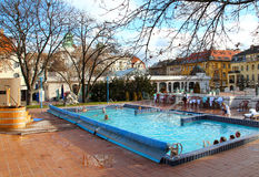 Gellert Bath in Budapest Royalty Free Stock Images