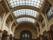 Gellert dos banheiros de Budapest Hungria Europa Fotos de Stock Royalty Free