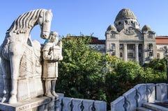 Gellert dos banheiros de Budapest Hungria Europa Fotografia de Stock Royalty Free