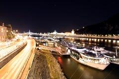 Gellert Hügel, Budapest stockbild