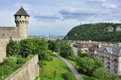 The Gellert Hill from the Castle Hill royalty free stock photos