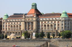Gellert Hotel Palace in Budapest Stock Photo