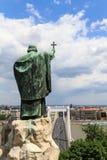Gellert statua Zdjęcia Royalty Free
