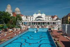 Gellert termiczni skąpania w Budapest Obraz Royalty Free