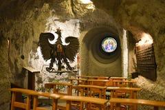 Gellert wzgórza jamy kościół, Budapest, Węgry fotografia royalty free