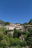 Gellone Monastery at Saint-Guilhem-le-Desert Stock Photography