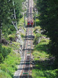 Gelmerbahn steepest funicular in Europe Royalty Free Stock Image