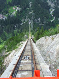 Gelmerbahn steepest funicular in Europe Stock Photography