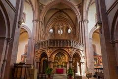 Gelnhausen kyrka Fotografering för Bildbyråer