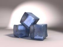 Gelo 3d Imagens de Stock