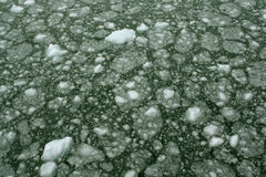 Gelo abstrato, impetuoso imagem de stock