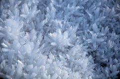 Gelo & cristalli di ghiaccio della neve Immagini Stock