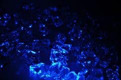 Gelo azul Fotografia de Stock Royalty Free