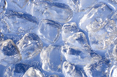Gelo azul foto de stock