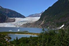 Gelo azul Fotos de Stock