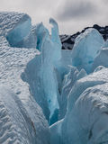 Gelo azul imagens de stock royalty free