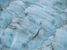 Gelo azul da geleira Foto de Stock
