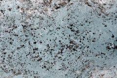 Gelo azul e cinzas vulcânicas fotos de stock