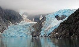 Gelo azul nas nuvens Fotos de Stock Royalty Free