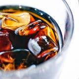 Gelo - bebida fria Foto de Stock
