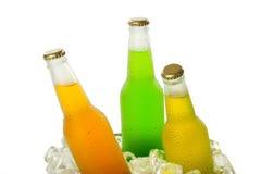 Gelo - bebidas do frio Imagem de Stock Royalty Free