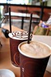 Gelo - bebidas do frio Fotografia de Stock