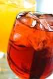 Gelo - bebidas do frio Imagens de Stock