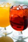 Gelo - bebidas do frio Foto de Stock Royalty Free