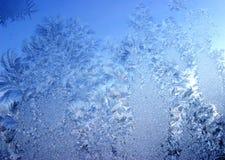 Gelo blu immagine stock