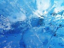 Gelo colorido Abstraia a textura do gelo Imagem de Stock Royalty Free