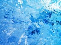 Gelo colorido Abstraia a textura do gelo Foto de Stock