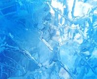 Gelo colorido Abstraia a textura do gelo Fundo da natureza Imagem de Stock