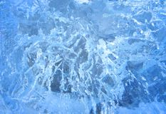 Gelo colorido Abstraia a textura do gelo Fundo da natureza Foto de Stock