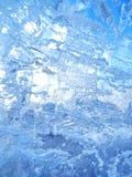 Gelo colorido Abstraia a textura do gelo Fundo da natureza Imagens de Stock Royalty Free