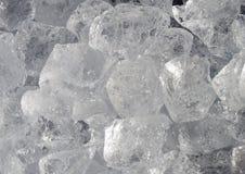 Gelo-cubos Foto de Stock