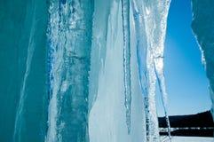 Gelo da mola Fotografia de Stock