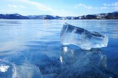 Gelo da mola Imagens de Stock Royalty Free
