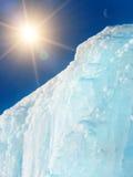 Gelo da montanha do iceberg Foto de Stock Royalty Free