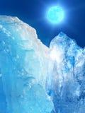 Gelo da montanha do iceberg Imagem de Stock