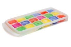 Gelo das cores na forma foto de stock