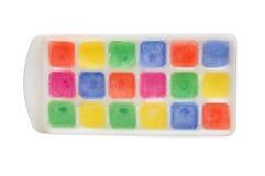 Gelo das cores no formulário Imagens de Stock