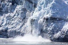 Gelo de derretimento da baía de geleira foto de stock