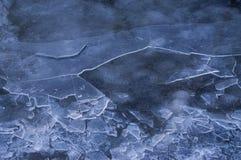 Gelo de desintegração Foto de Stock