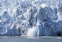 Gelo de queda em Alaska imagens de stock