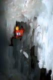 Gelo dinâmico fotografia de stock