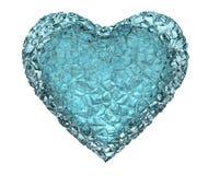 Gelo do coração Imagens de Stock Royalty Free