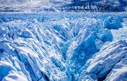 Gelo do interior de Gronelândia Imagens de Stock