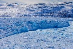 Gelo do interior de Gronelândia Fotografia de Stock