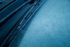 Gelo do limpador de pára-brisa Imagens de Stock Royalty Free